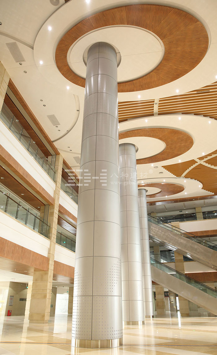 国际资讯_购物中心包柱铝单板|圆柱铝单板|弧形铝单板-八和建材 厂家定制