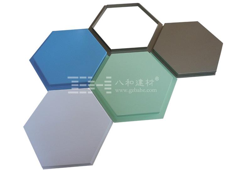 六边形造型铝单板