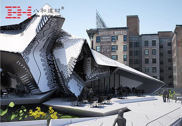 世界建筑文化之旅 美国旧银行区博物馆