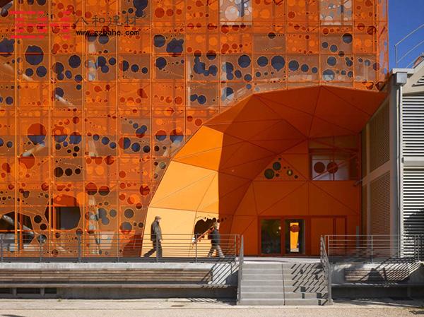 世界建筑文化之旅 法国里昂橙色立方体