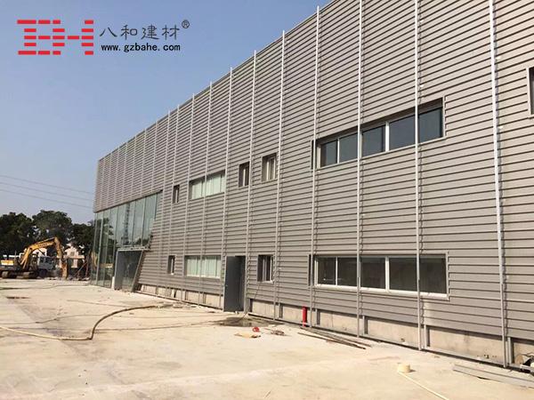 【奥迪汽车4s店】中山小榄项目铝单板装饰中