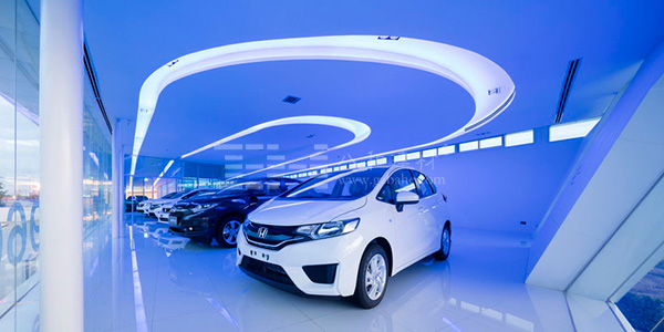 泰国本田汽车4s店格式探索者raw零度图片