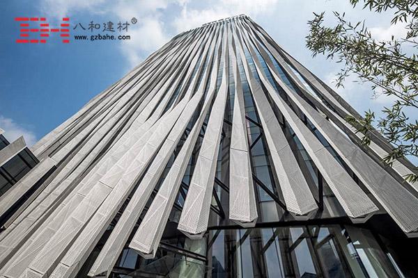 上海虹口SOHO - 条形外墙铝单板的表皮2