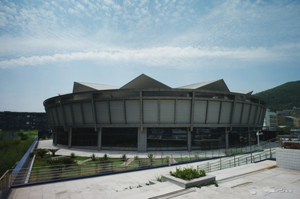 3.0mm Fluorocarbon lacquered aluminum veneer Decoration Shenzhen Yantian Stadium exterior wall