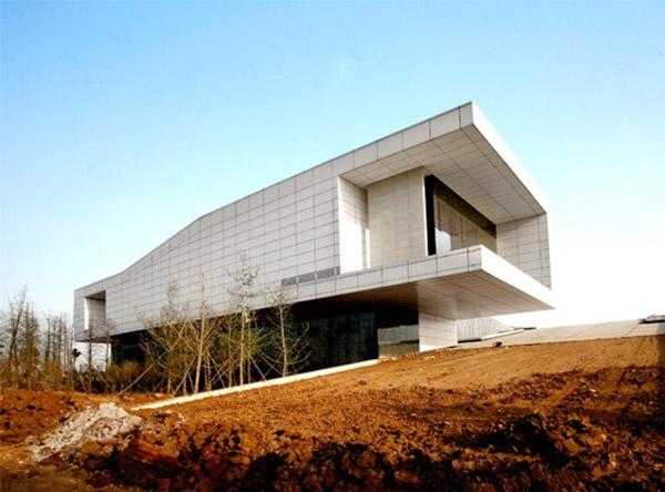 Aluminum honeycomb panel Decoration Dahexi Pilot Area Planning Exhibition Hall