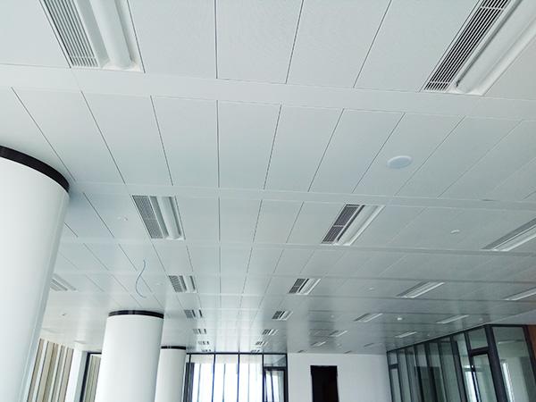 Polyester Powder Aluminum Veneer Decoration Guangzhou Fashion Center Ceiling
