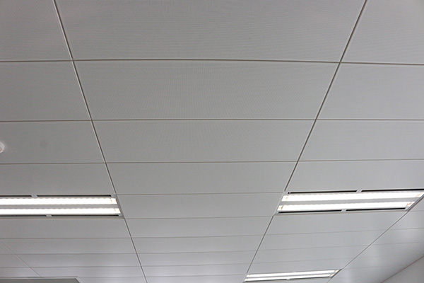 Decorative Effect Of Punched T-shaped Aluminum Ceiling