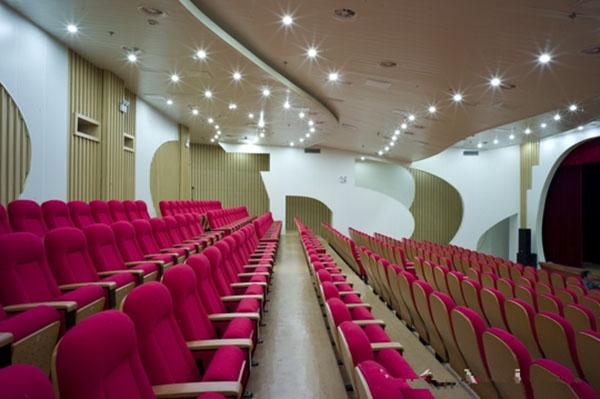 Perforated Aluminum Honeycomb Panel Decoration Suzhou Youth Activity Center
