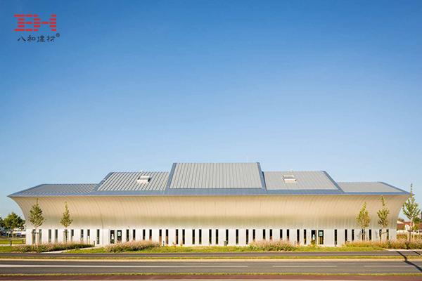 Diziye Art Center Uses Aluminum Veneers To Create An Architectural Look
