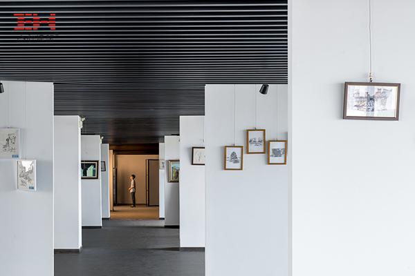 案例欣赏:铝合金格栅、铝方通装饰安徽大学艺术与传媒学院美术楼06.jpg