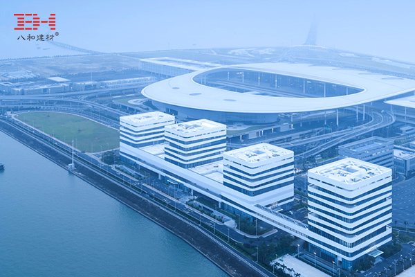 Aluminum Materials Decorate The Zhuhai Port Office Building Of The Hong Kong-Zhuhai-Macao Bridge