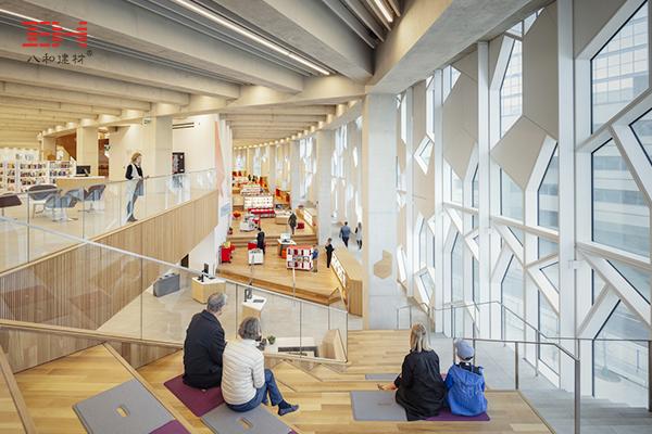 造型铝单板装饰卡尔加里中央图书馆建筑外墙007.jpg