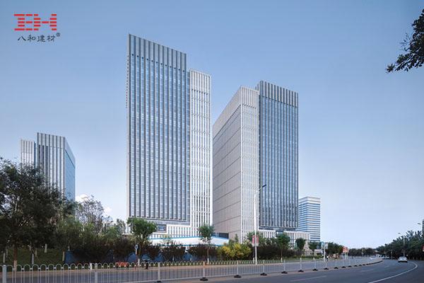 外墙铝单板打造天津新城市中心巨型百叶效果004.jpg