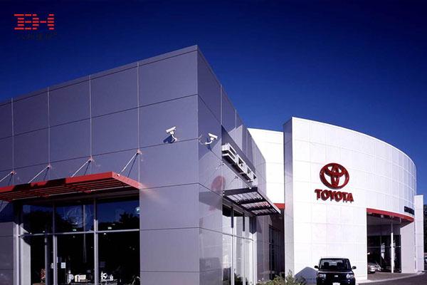 案例欣赏:阳极氧化铝单板装饰4S店幕墙