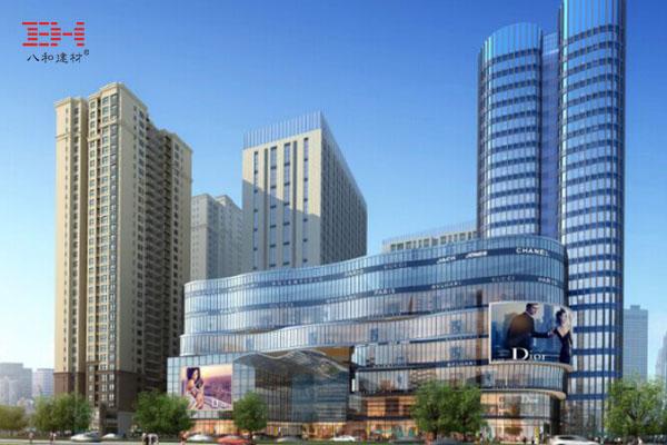 案例欣赏:冲孔铝板装饰购物中心中庭