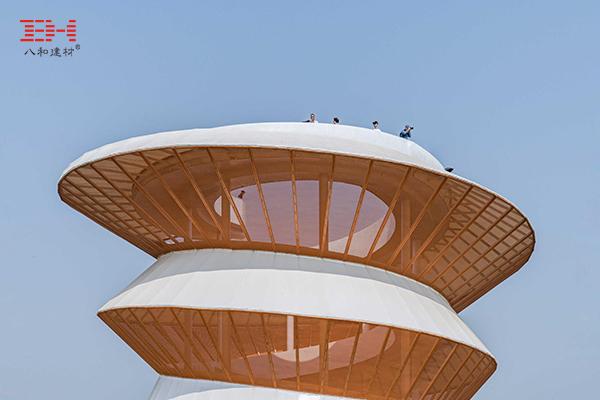案例欣赏:深圳欢乐田园观光塔的金属拉伸网