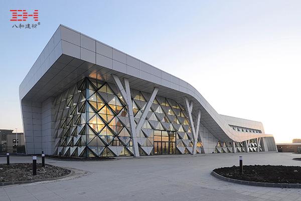 案例欣赏:幕墙铝单板装饰龙江公路客运北站