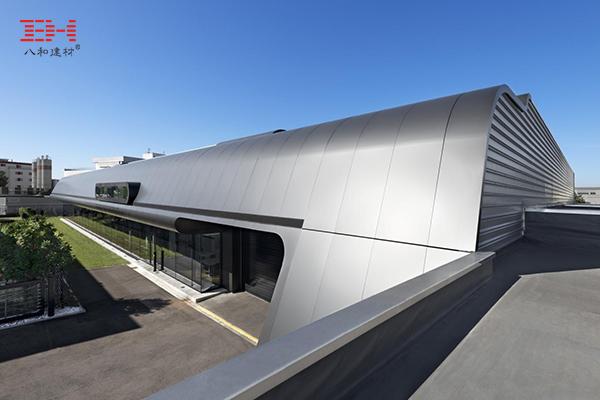 案例欣赏:弧形铝单板装饰德国奥斯特菲尔登理想工厂