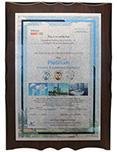 荷兰阿克苏粉末最高30年授权喷涂证书