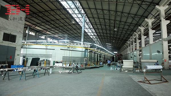 氟碳铝单板厂家日均喷涂能力