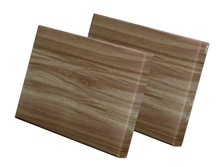 仿木纹铝单板的加工简单流程