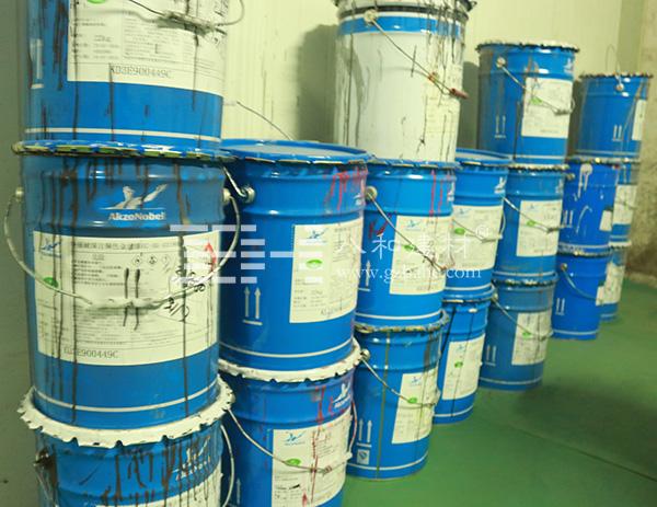 【荷兰阿克苏氟碳漆】中国区域氟碳铝单板指定喷涂厂家