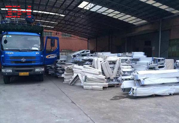 八和建材木纹铝单板厂家发货动态