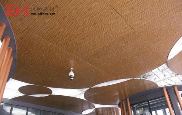 建筑装饰材料木纹铝单板与木材的比较