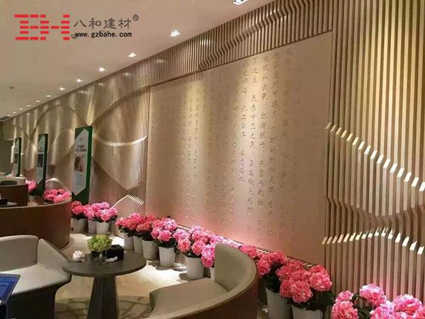 专注异型铝单板背景墙及弧形铝方通解决方案