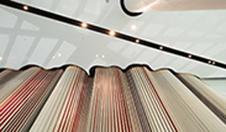 天伦集团林和项目-艺术造型铝单板