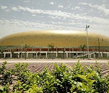 体育馆案例-三门峡文化体育中心