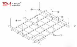 甲级写字楼铝扣板天花安装方式