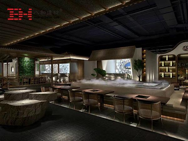 镂空木纹铝单板 木纹铝方通 -山西邻里别院餐厅