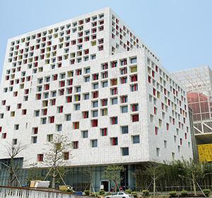 艺术造型铝单板 - 建造与数字的结合概念