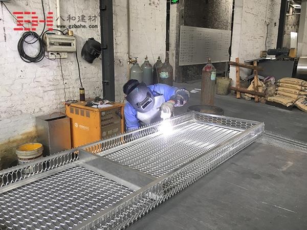 铝单板厂家讲解铝单板加工工艺 - 焊接