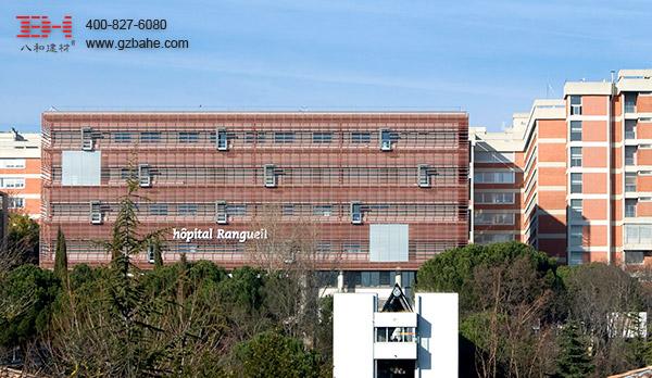 图卢兹Rangueil医院建筑设计项目工程案例