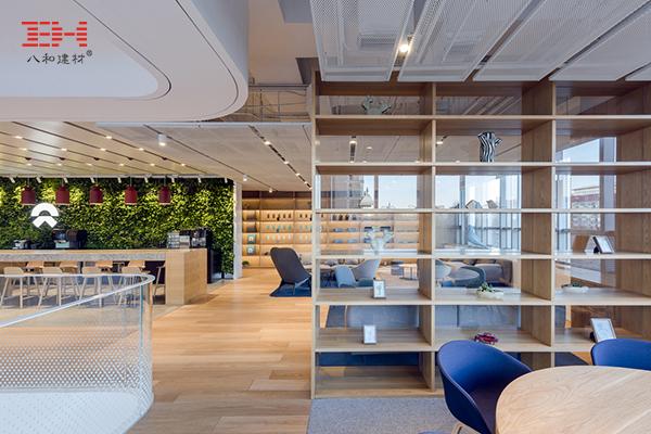 室内铝单板装饰蔚来电动汽车旗舰店