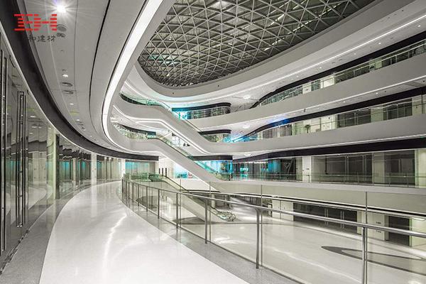 商场/购物中心中庭护栏铝单板案例欣赏