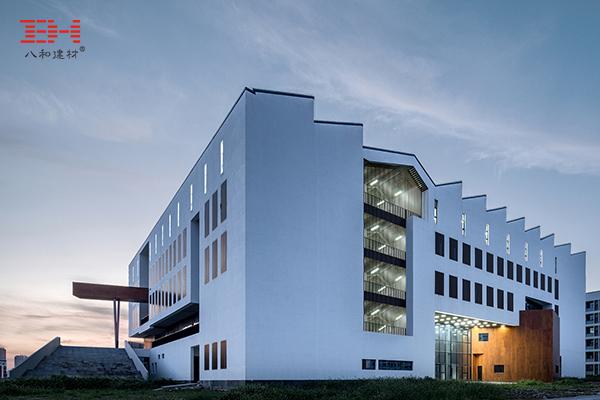 案例欣赏:铝窗花、铝方通、型材方通装饰安徽大学美术楼