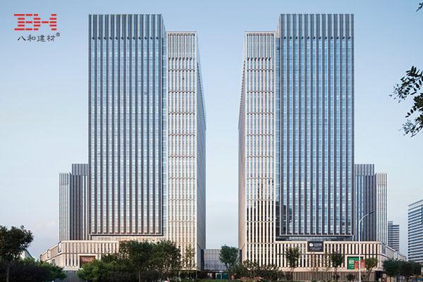 案例欣赏:幕墙铝单板打造天津新城市中心巨型百叶效果