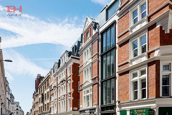 案例欣赏:铝单板/铝方通装饰小巷综合体建筑
