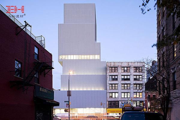 案例欣赏:金属拉伸网在建筑艺术学院外墙方面的运用