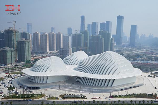 案例欣赏:氟碳铝单板、异型铝单板装饰广西文化艺术中心外墙