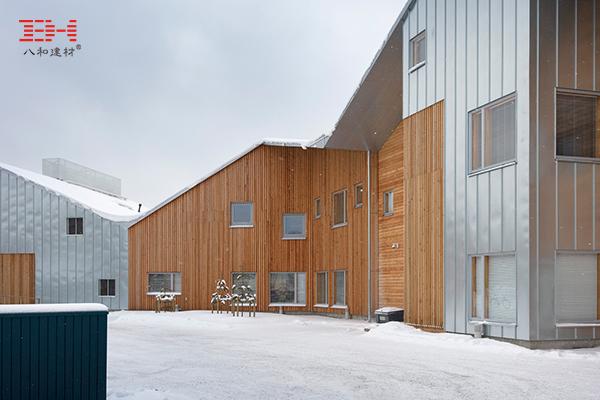 案例欣赏:幕墙铝单板装饰芬兰现代幼儿园