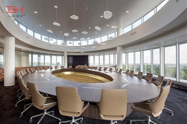 案例欣赏:铝天花吊顶装饰律师事务所总部办公天花