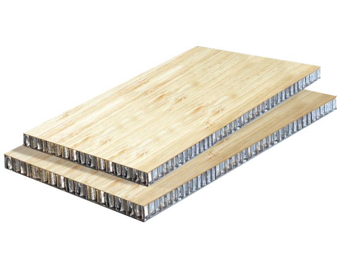 竹铝蜂窝板