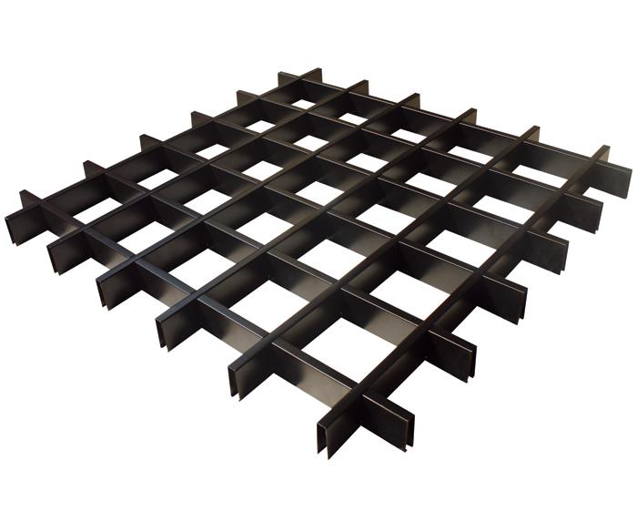 方形铝格栅吊顶