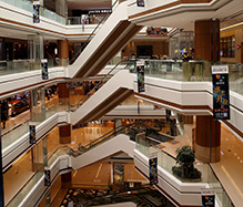 购物中心扶梯铝单板