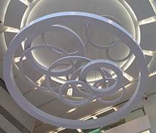 展览馆铝天花吊顶