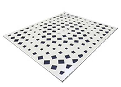 水切割铝单板